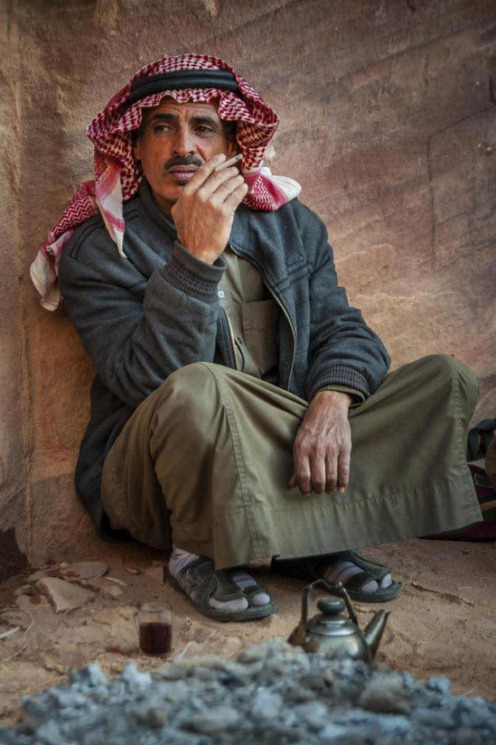 Miestny beduín