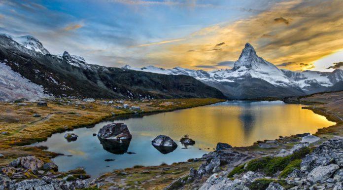Švajčiarsko Riffelsee