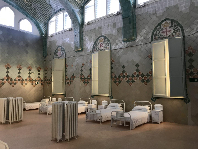 Barcelona nemocnica
