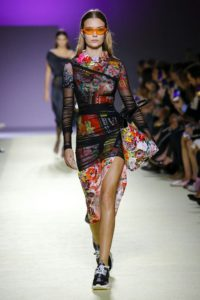 Midi a mini šaty, Versace