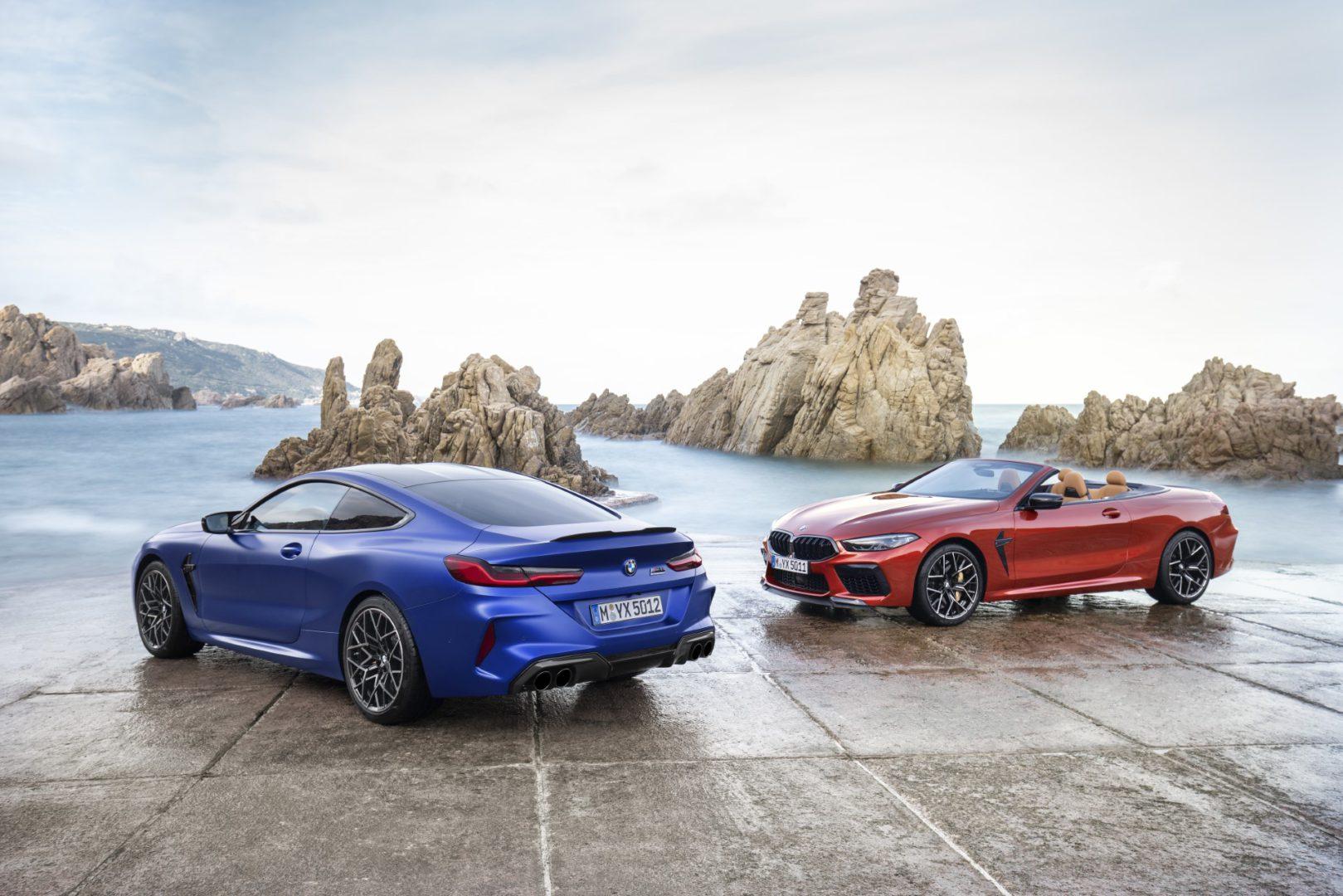 BMW M8 Coupé a BMW M8 Cabrio