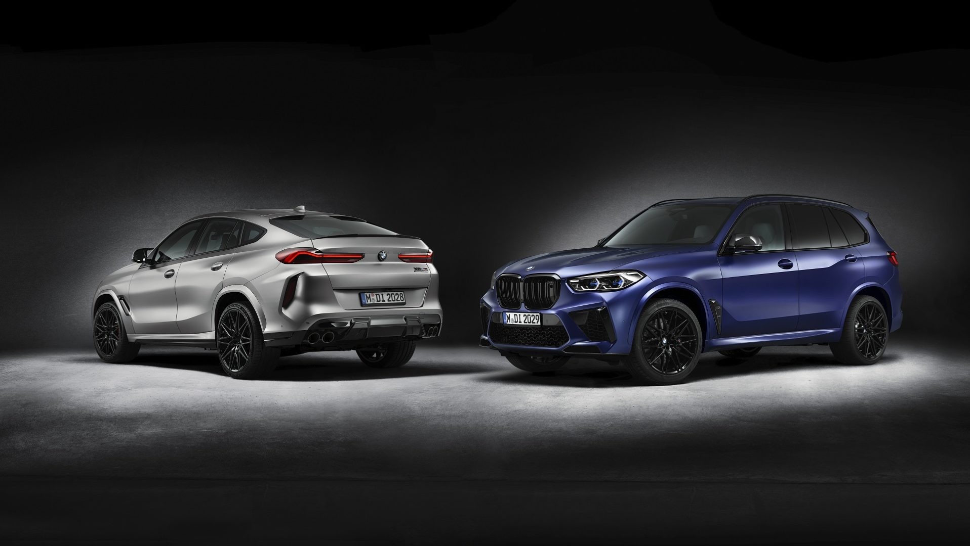 BMW X6 M a BMW X5 M Competition First Edition